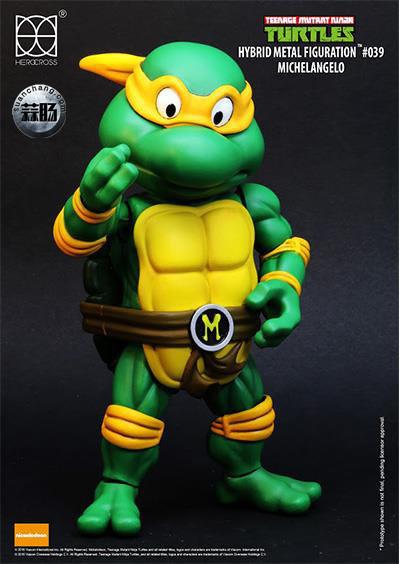 HEROCROSS Hybrid Metal 忍者神龟 发售信息 模玩 第13张