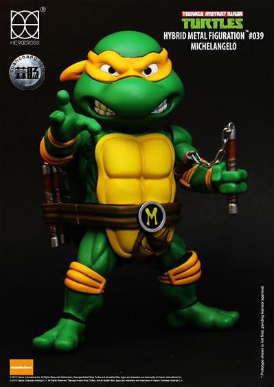 HEROCROSS Hybrid Metal 忍者神龟 发售信息 模玩 第14张