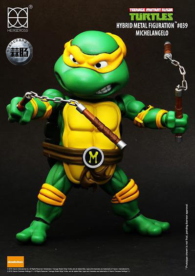 HEROCROSS Hybrid Metal 忍者神龟 发售信息 模玩 第15张