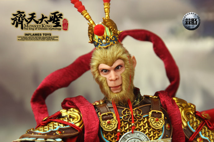 猴厂的齐天大圣2.0被翻模了? 模玩 第6张