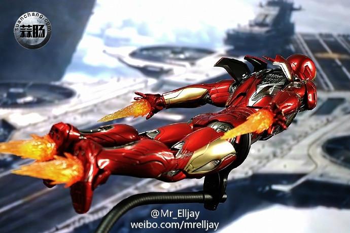 Hottoys 钢铁侠 MK45 实物图 模玩 第5张