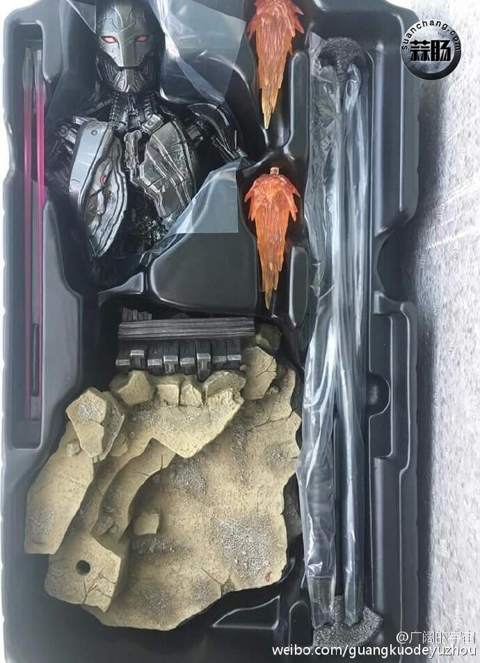Hottoys 钢铁侠 MK45 实物图 模玩 第12张