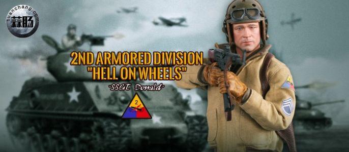 """DID新品:1/6二战美军第二装甲师""""谢尔曼""""车长(二)"""