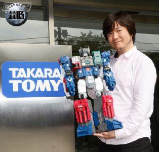 TakaraTomy公司的莲井章悟先生谈泰坦回归 LG31 福特 (电击hobby)(上篇)