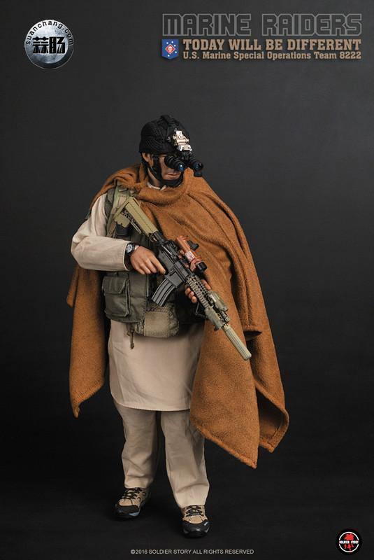 SoldierStory 新品:1/6 美国海军陆战队 - 特种作战小队 MSOT 8222 模玩 第1张