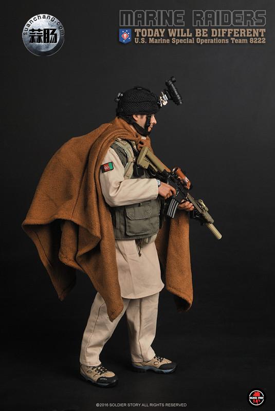 SoldierStory 新品:1/6 美国海军陆战队 - 特种作战小队 MSOT 8222 模玩 第4张