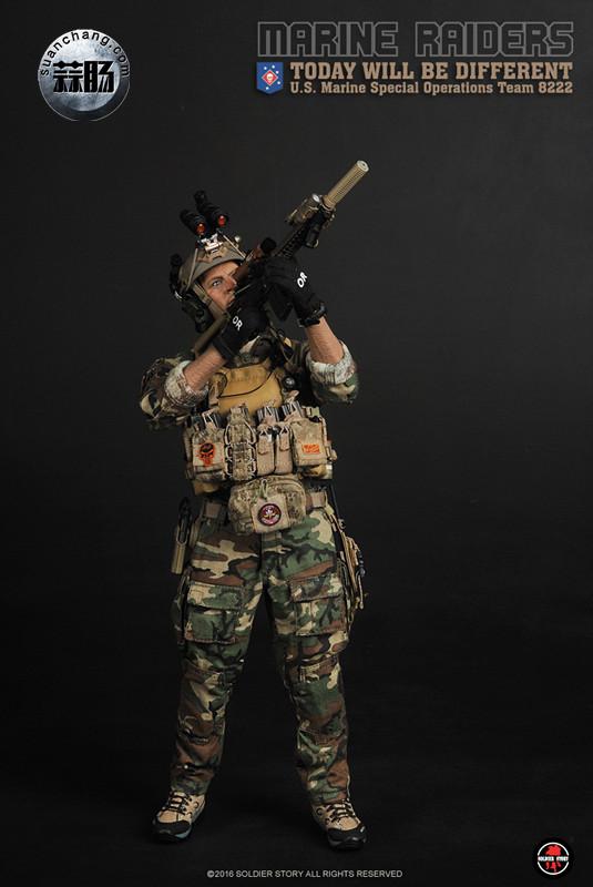 SoldierStory 新品:1/6 美国海军陆战队 - 特种作战小队 MSOT 8222 模玩 第20张