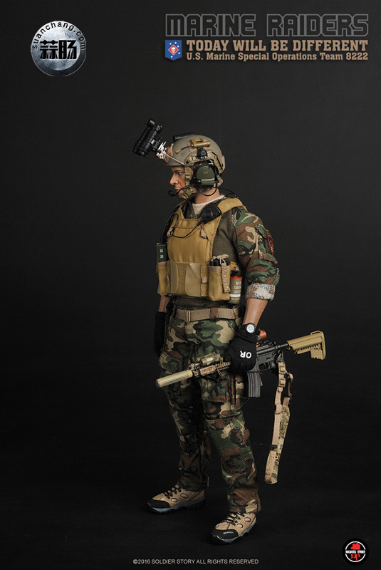 SoldierStory 新品:1/6 美国海军陆战队 - 特种作战小队 MSOT 8222 模玩 第25张