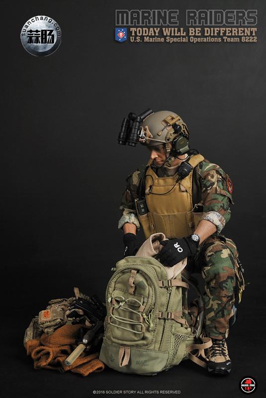 SoldierStory 新品:1/6 美国海军陆战队 - 特种作战小队 MSOT 8222 模玩 第27张