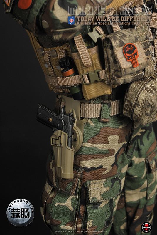 SoldierStory 新品:1/6 美国海军陆战队 - 特种作战小队 MSOT 8222 模玩 第34张