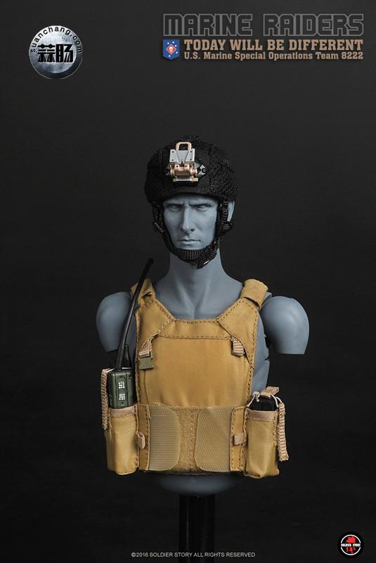 SoldierStory 新品:1/6 美国海军陆战队 - 特种作战小队 MSOT 8222 模玩 第40张