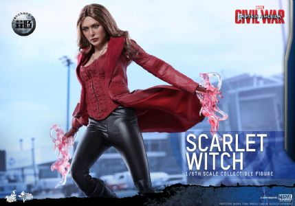 Hottoys 新品:《美国队长3:内战》- Scarlet Witch/绯红女巫 3.0