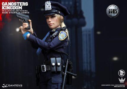 DAMTOYS 1/6黑帮王国系列 番外篇:安妮·刘易斯 警官