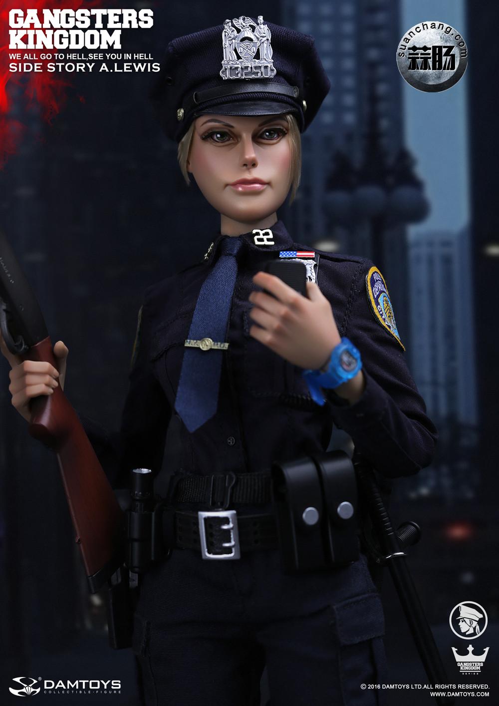 DAMTOYS 1/6黑帮王国系列 番外篇:安妮·刘易斯 警官 模玩 第5张