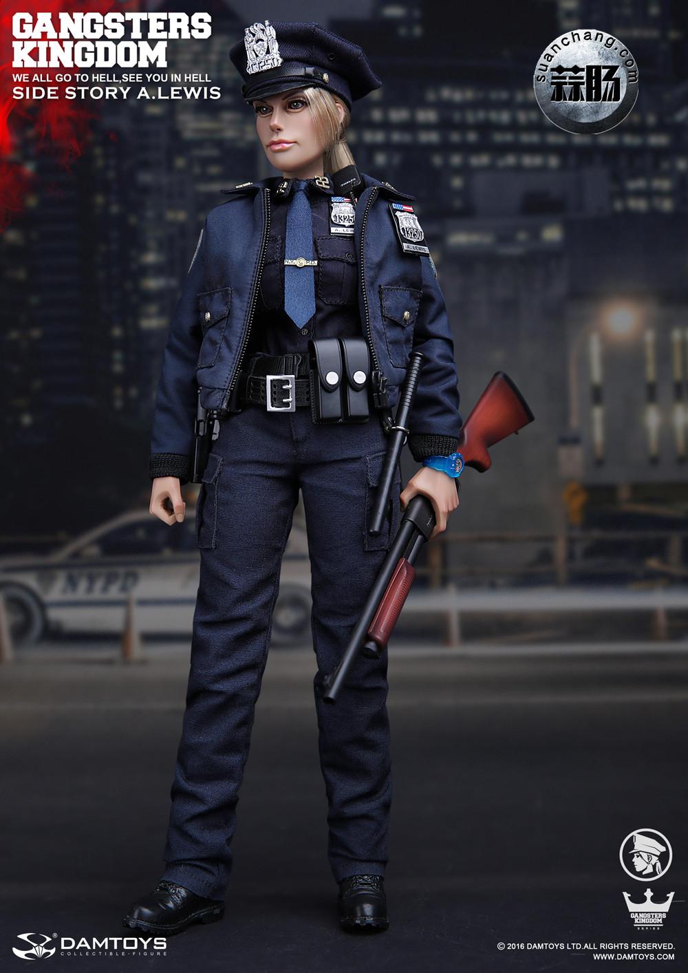 DAMTOYS 1/6黑帮王国系列 番外篇:安妮·刘易斯 警官 模玩 第6张