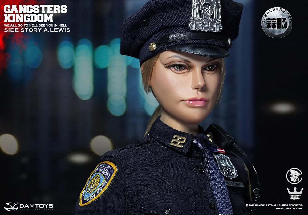 DAMTOYS 1/6黑帮王国系列 番外篇:安妮·刘易斯 警官 模玩 第8张