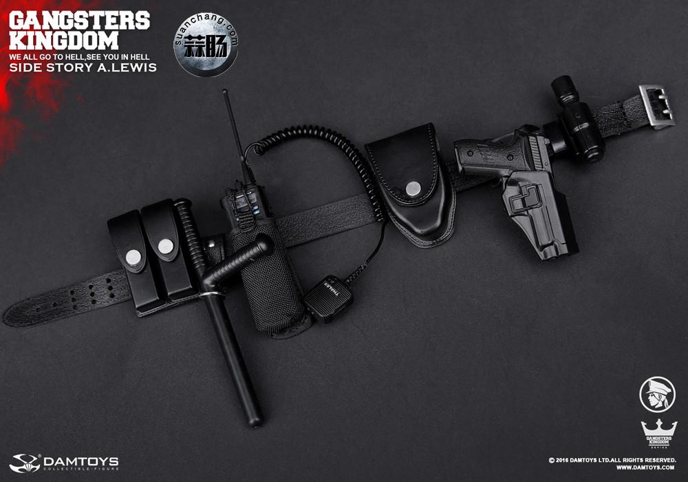 DAMTOYS 1/6黑帮王国系列 番外篇:安妮·刘易斯 警官 模玩 第13张