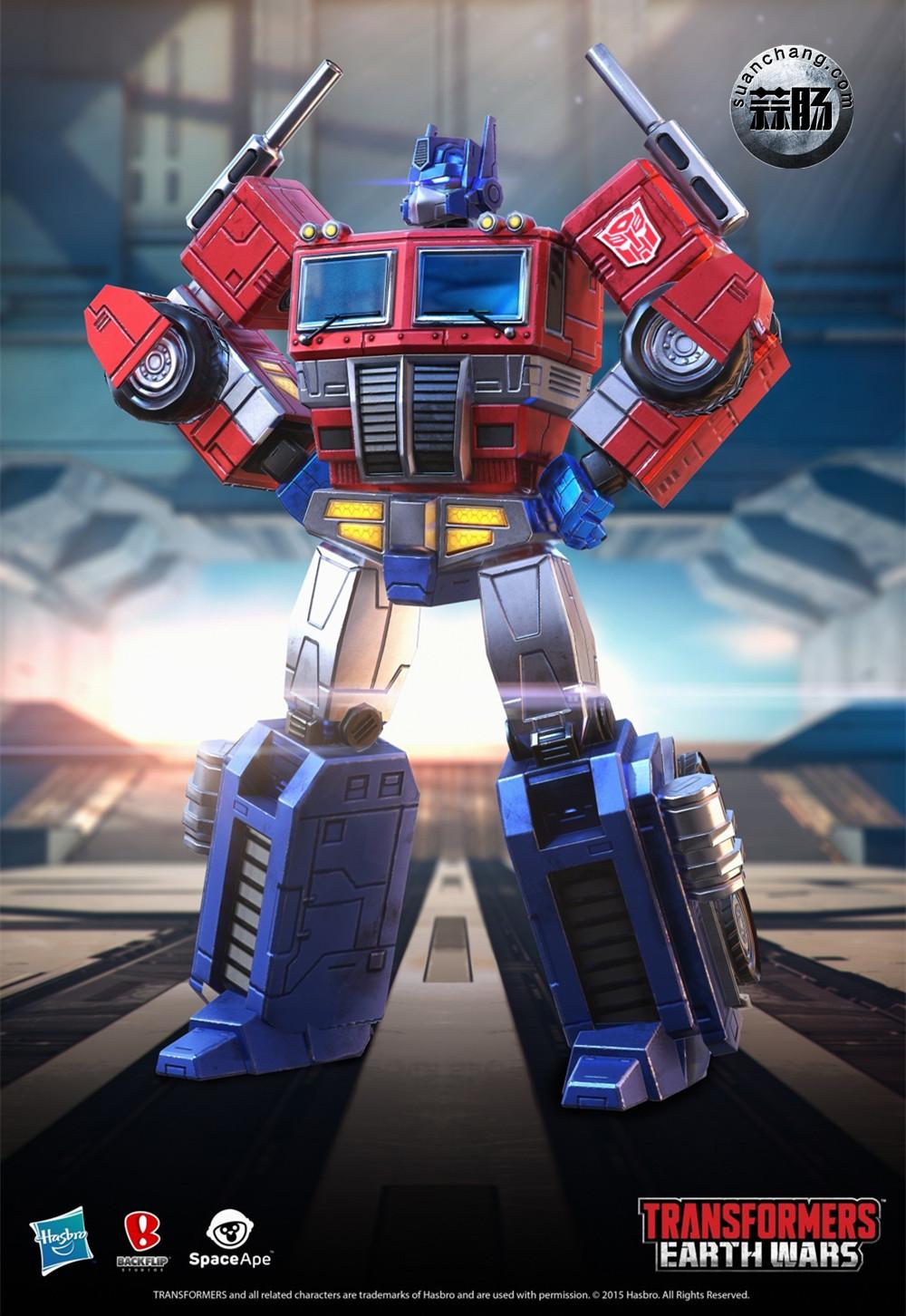 Transformers Earth Wars 游戏人物(一) 变形金刚 第1张