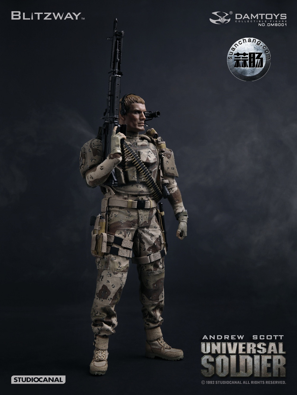 DAM联合 Blitzway:1/6 再造战士-安德鲁.斯科特(龙格尔),即将出货! 模玩 第5张