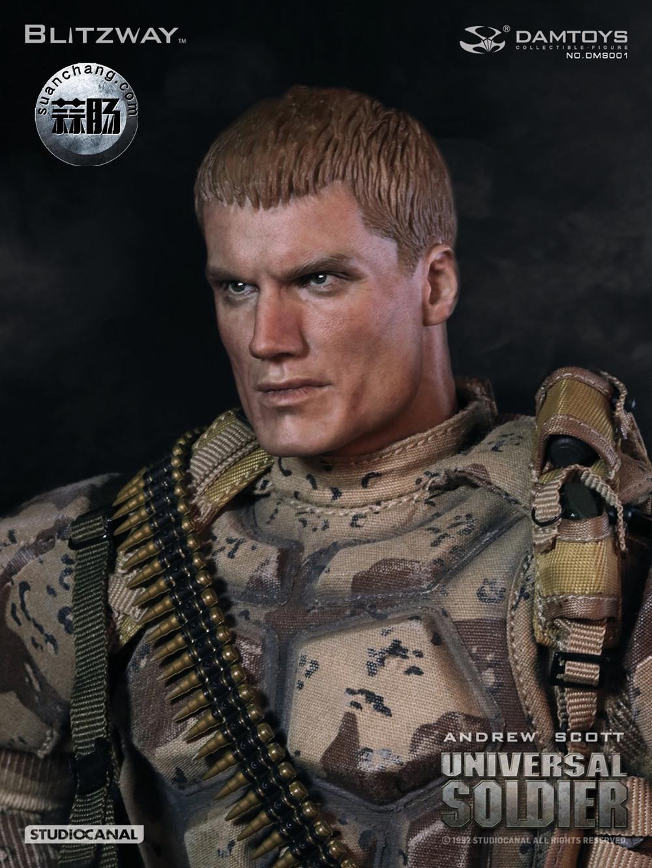 DAM联合 Blitzway:1/6 再造战士-安德鲁.斯科特(龙格尔),即将出货! 模玩 第3张