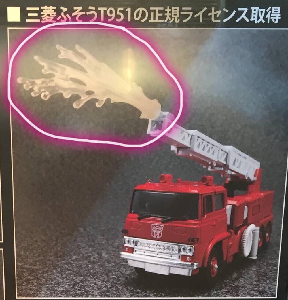 变形金刚新品:MP33消防车 变形金刚 第5张