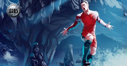 漫威与ESPN联合推出欧洲杯系列球员新形象 动漫 第11张