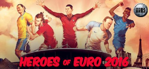 漫威与ESPN联合推出欧洲杯系列球员新形象 动漫 第1张