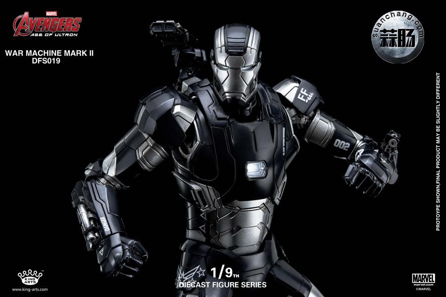 King Arts 新品 1/9  战争机器MK2  合金可动人偶发售 模玩 第12张