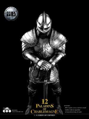 COOMODEL 1/6 NO:SE003 帝国系列 — 查理曼12圣骑士