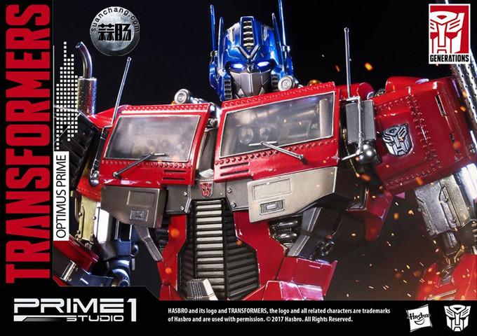 Prime 1 Studio 24寸擎天柱 G1版雕像 变形金刚 第10张