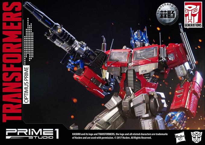 Prime 1 Studio 24寸擎天柱 G1版雕像 变形金刚 第11张