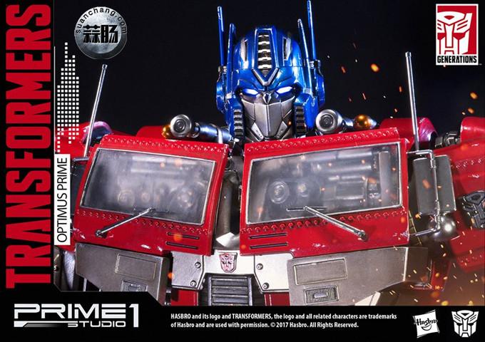 Prime 1 Studio 24寸擎天柱 G1版雕像 变形金刚 第13张