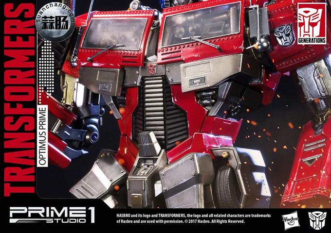 Prime 1 Studio 24寸擎天柱 G1版雕像 变形金刚 第17张