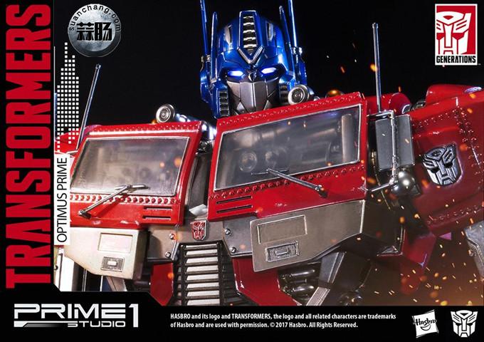 Prime 1 Studio 24寸擎天柱 G1版雕像 变形金刚 第18张
