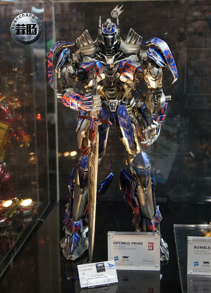 Comicave新品:1/22比例 超合金变形金刚 - 擎天柱 Optimus Prime 变形金刚 第2张