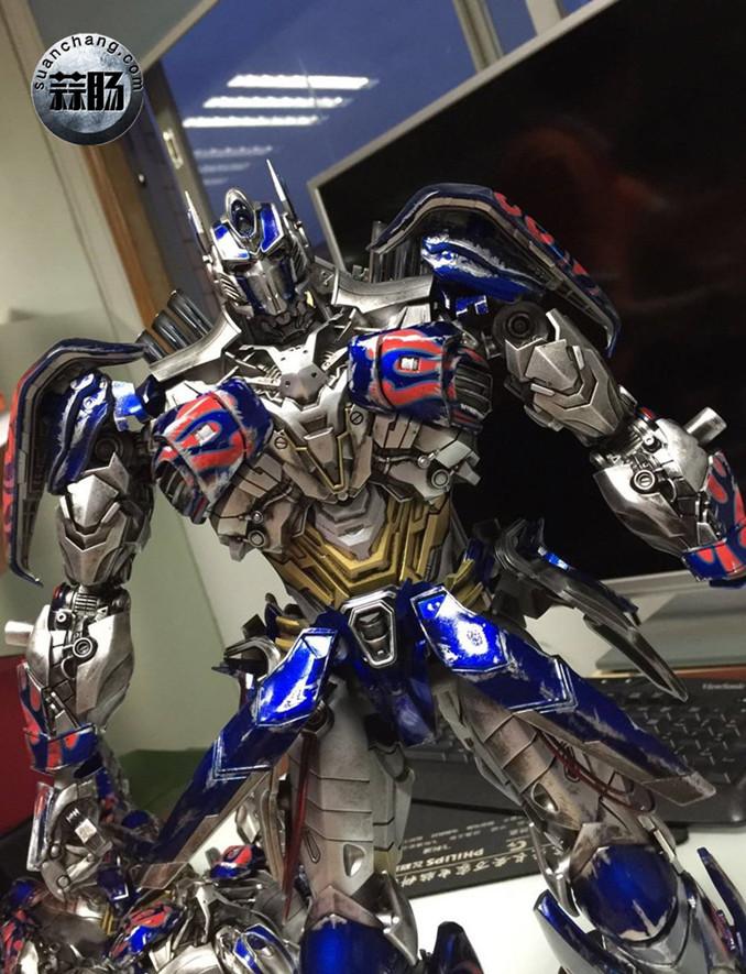 Comicave新品:1/22比例 超合金变形金刚 - 擎天柱 Optimus Prime 变形金刚 第5张
