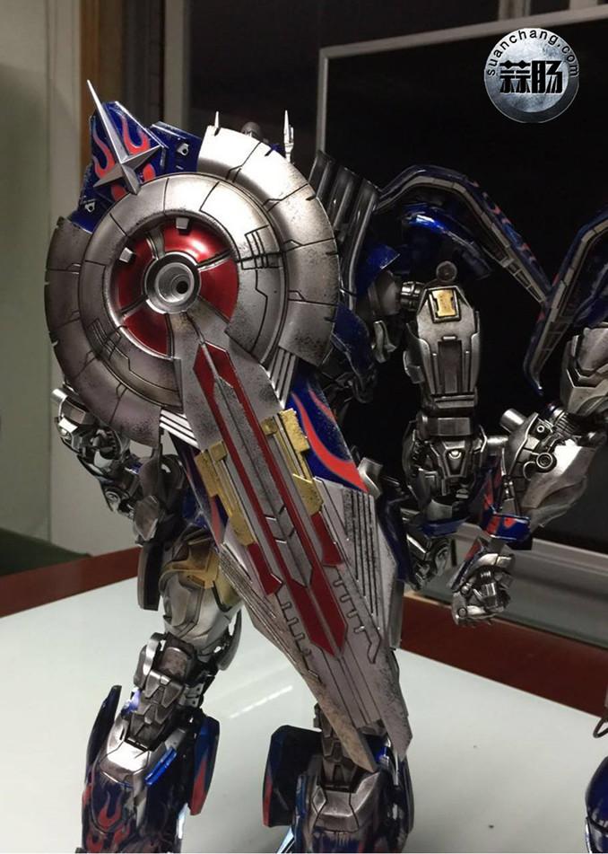 Comicave新品:1/22比例 超合金变形金刚 - 擎天柱 Optimus Prime 变形金刚 第6张