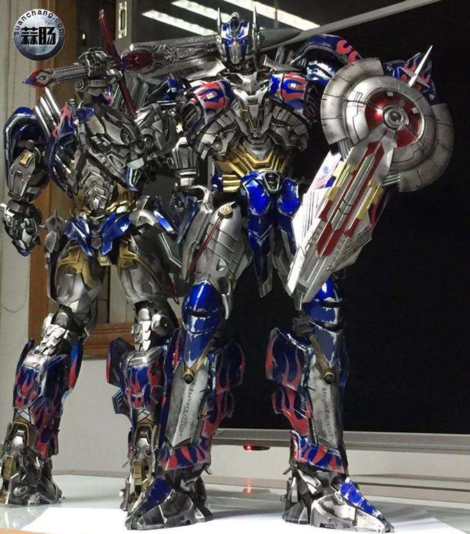 Comicave新品:1/22比例 超合金变形金刚 - 擎天柱 Optimus Prime 变形金刚 第7张