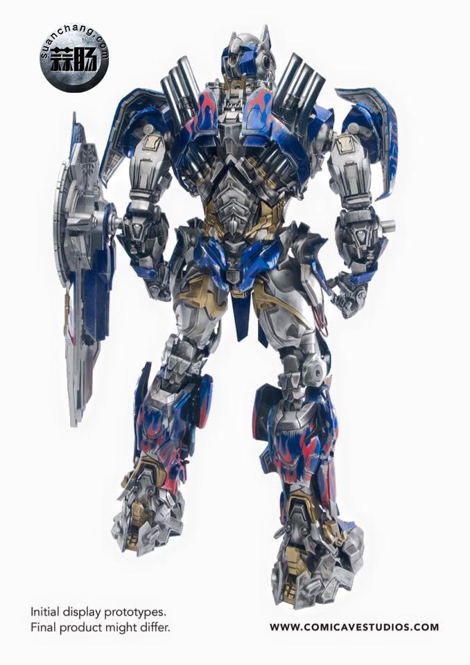 Comicave新品:1/22比例 超合金变形金刚 - 擎天柱 Optimus Prime 变形金刚 第12张