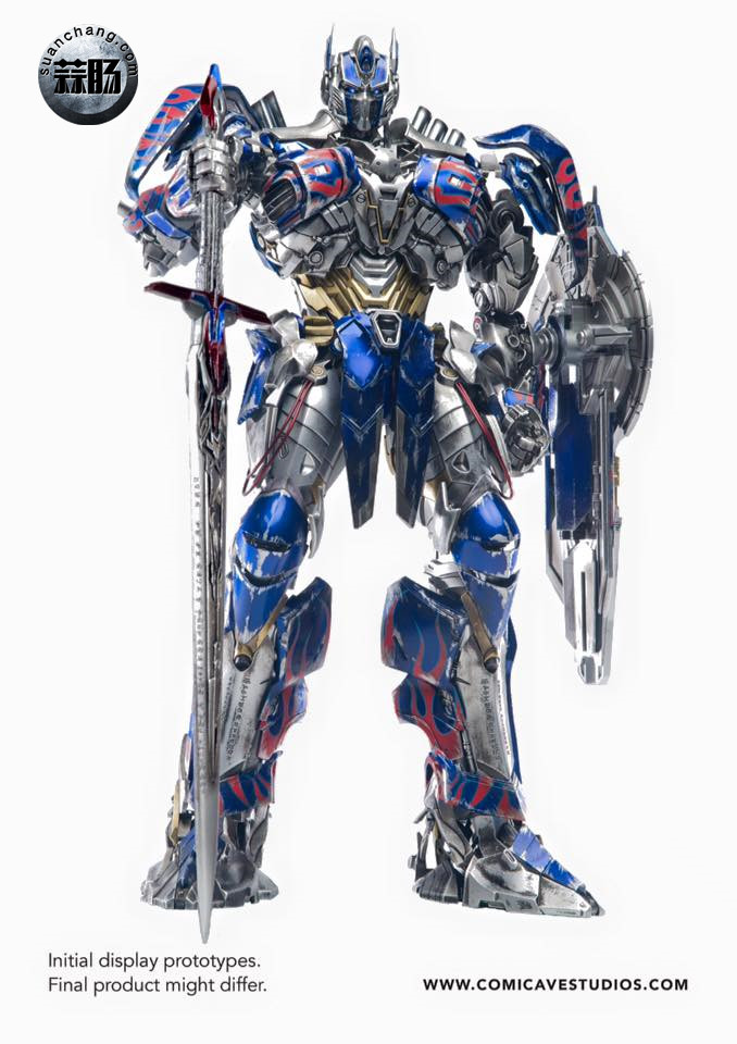 Comicave新品:1/22比例 超合金变形金刚 - 擎天柱 Optimus Prime 变形金刚 第13张