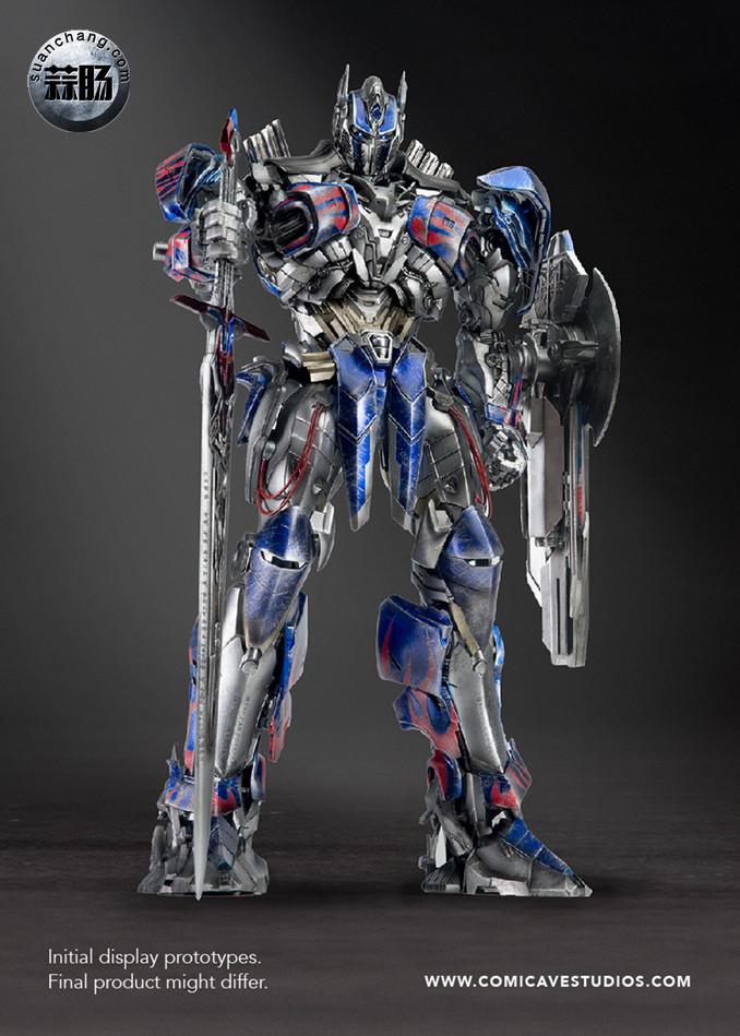 Comicave新品:1/22比例 超合金变形金刚 - 擎天柱 Optimus Prime 变形金刚 第14张