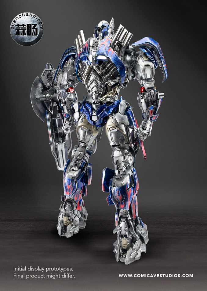 Comicave新品:1/22比例 超合金变形金刚 - 擎天柱 Optimus Prime 变形金刚 第15张