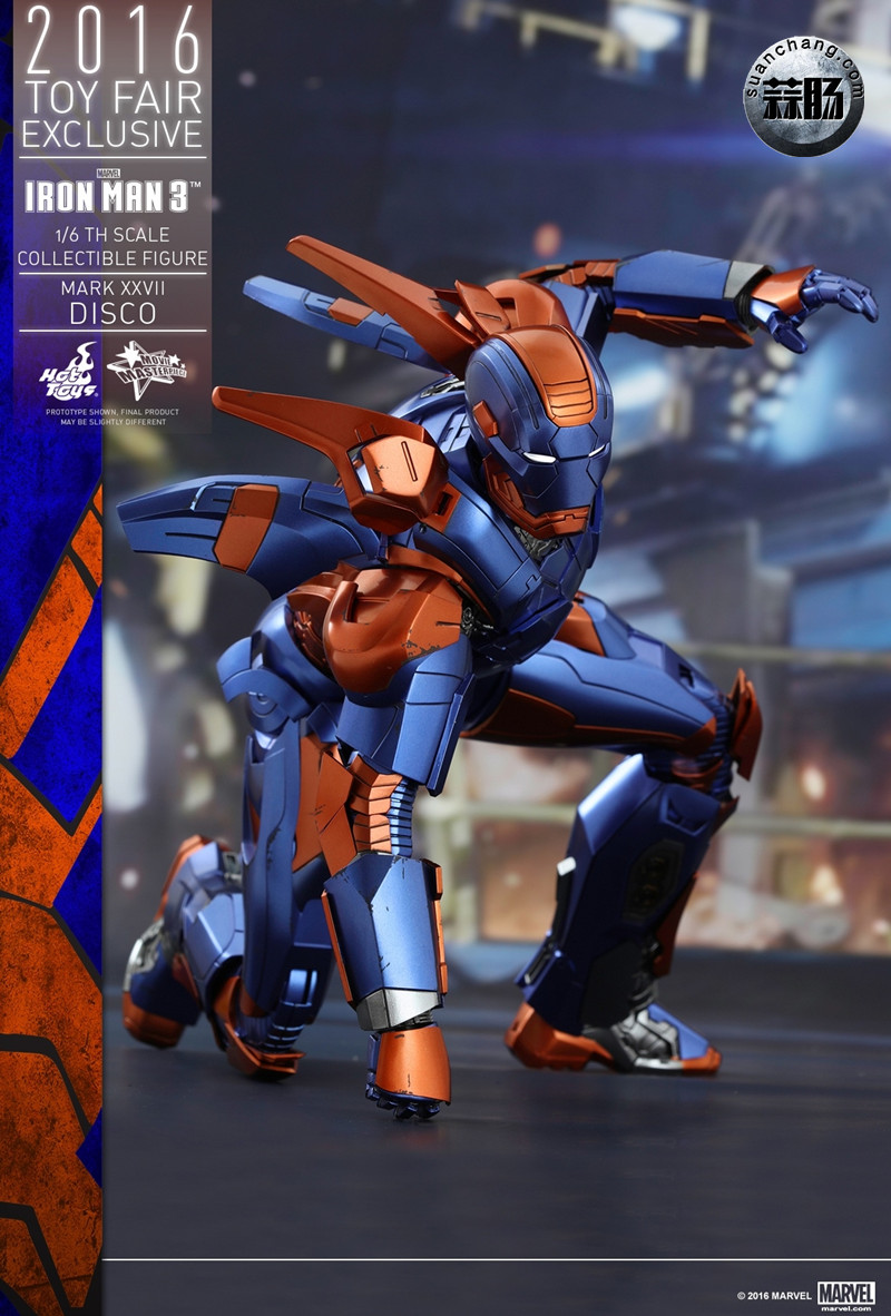Hottoys 新品: 《钢铁侠3》- 钢铁侠MK27 Disco迪斯科 【会场限定】 模玩 第8张