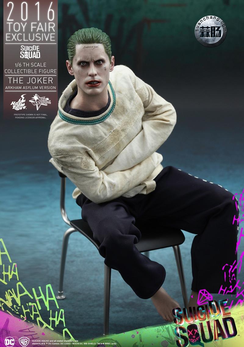 Hottoys 新品:《自杀小队》 小丑JOKER- 阿甘疯人院版【会场限定】 模玩 第3张