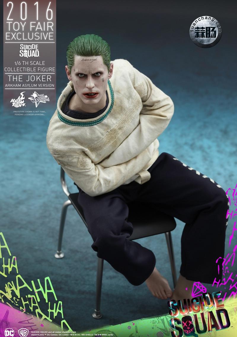 Hottoys 新品:《自杀小队》 小丑JOKER- 阿甘疯人院版【会场限定】 模玩 第4张
