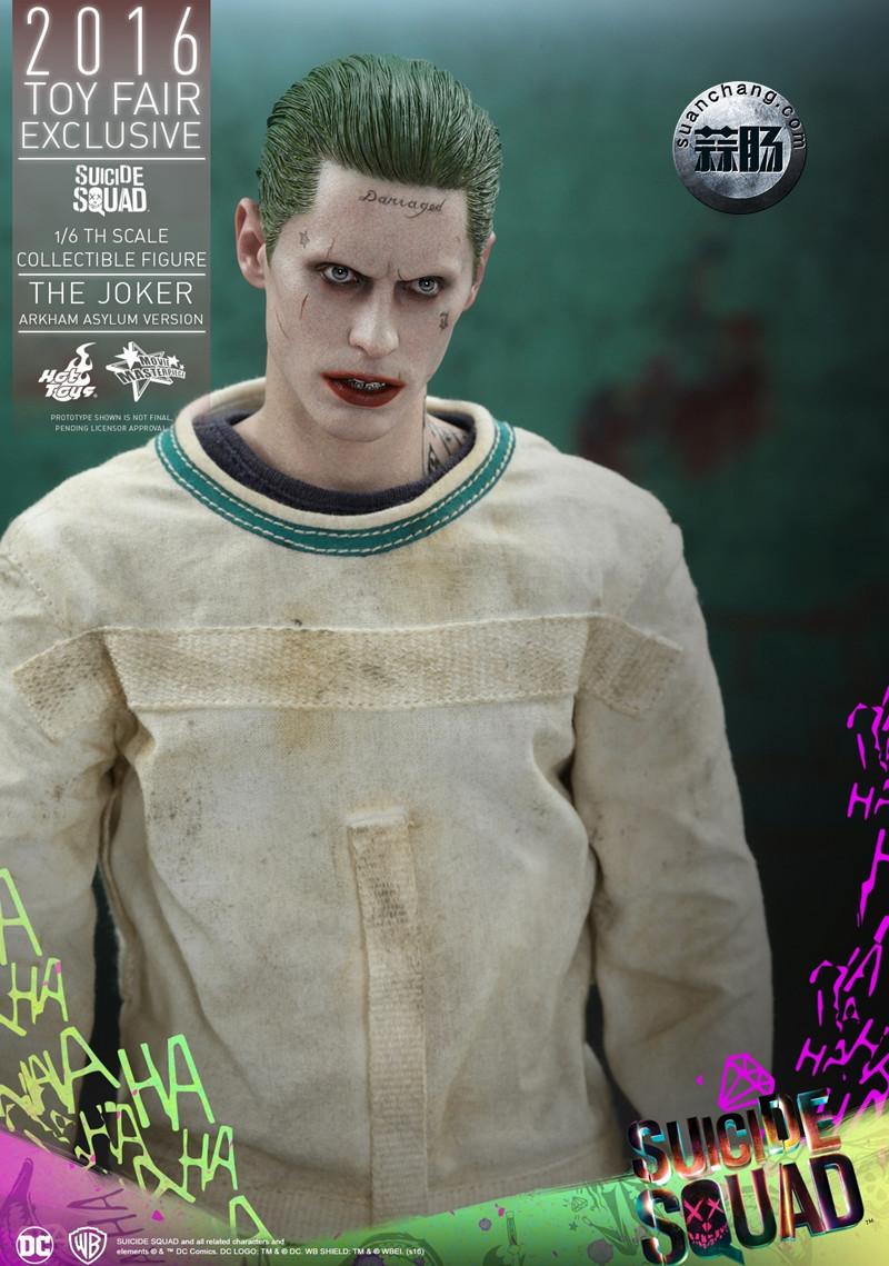 Hottoys 新品:《自杀小队》 小丑JOKER- 阿甘疯人院版【会场限定】 模玩 第6张