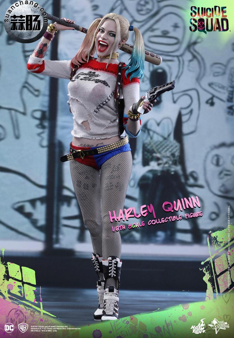 HotToys新品MMS383《自杀小队》小丑女-哈莉.奎茵 模玩 第2张