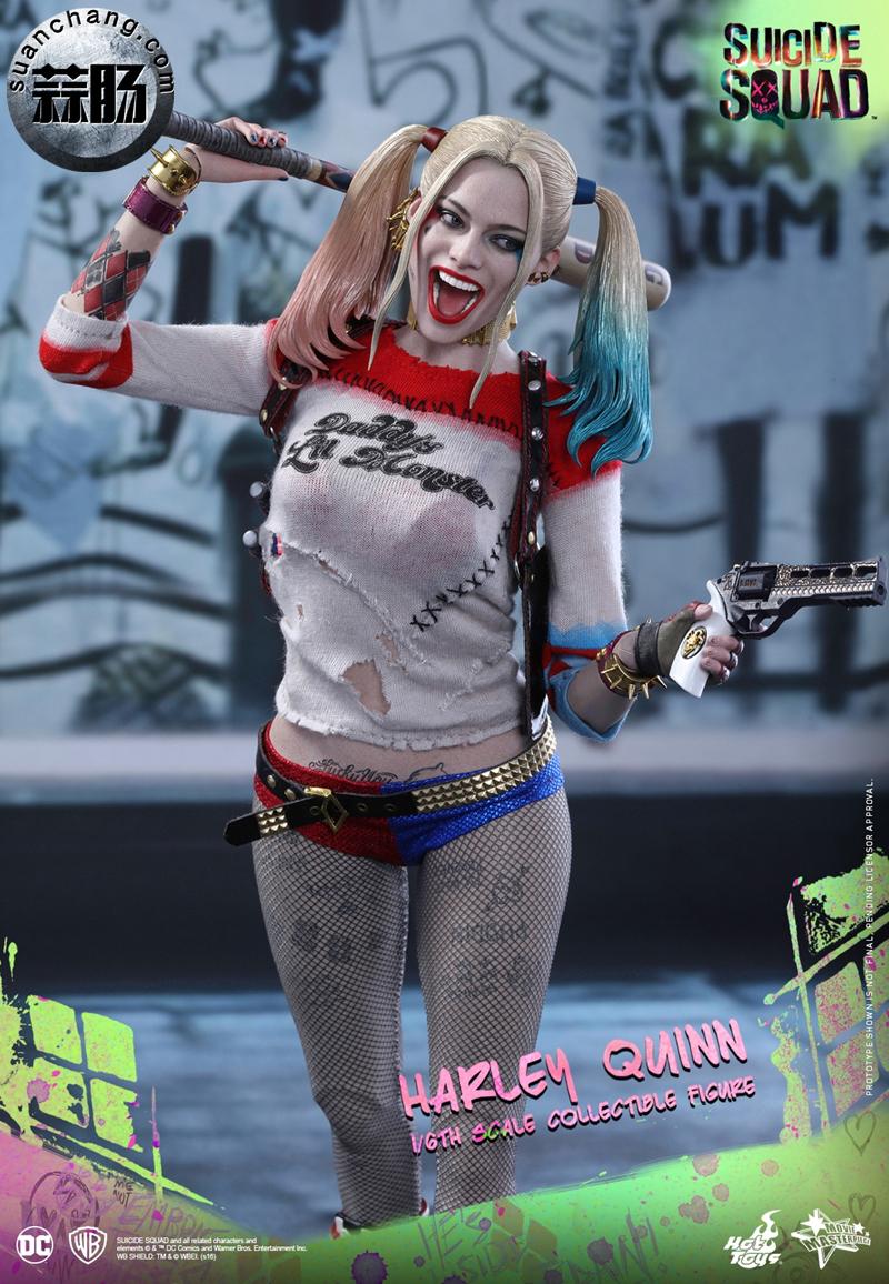 HotToys新品MMS383《自杀小队》小丑女-哈莉.奎茵 模玩 第8张