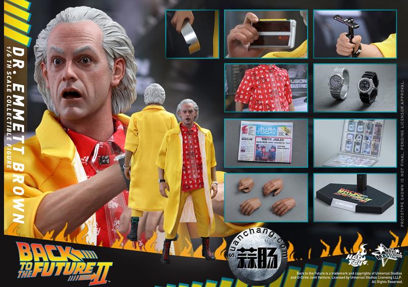 Hot Toys新品MMS380《回到未来2》-布朗博士 模玩 第8张