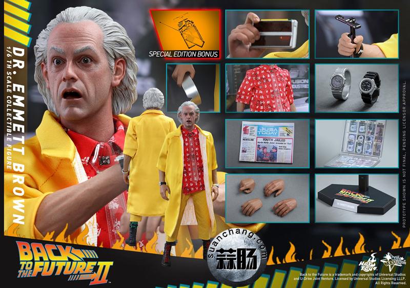 Hot Toys新品MMS380《回到未来2》-布朗博士 模玩 第9张